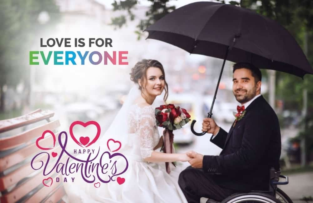 Valentines Day in Disabled Community